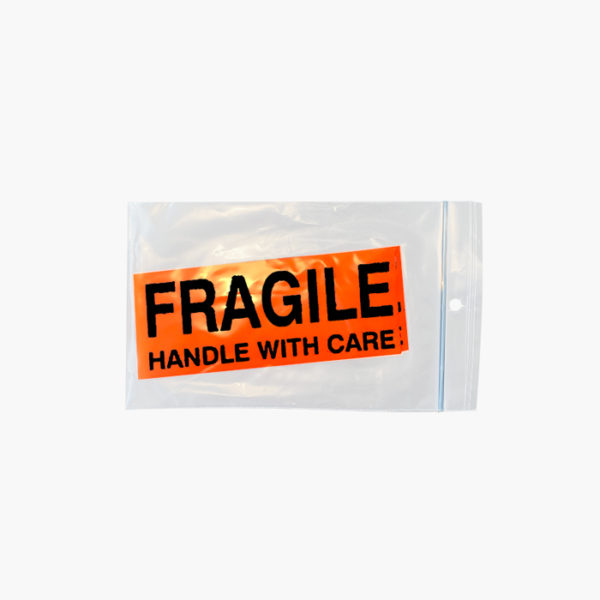 Pack of 5 Fragile Stickers Toronto